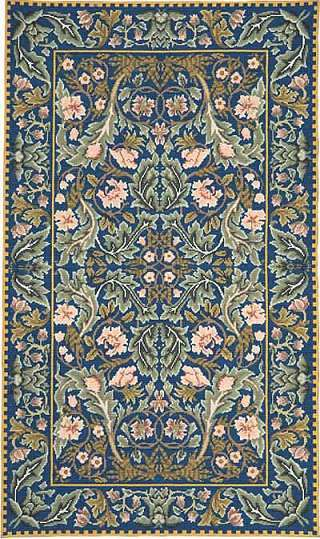 Beth Russell Acanthus Tapestry Rug Kit