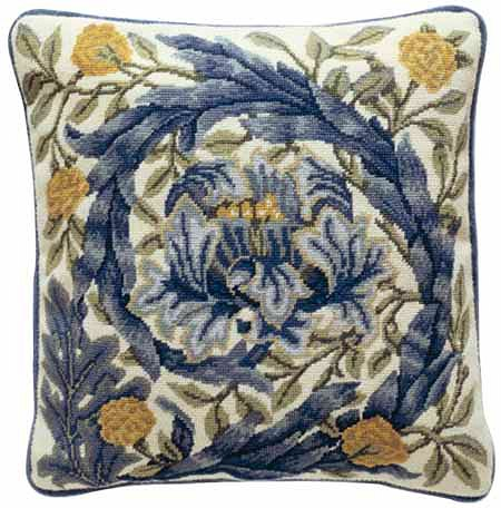 Beth Russell African Marigolds Cushion Tapestry Kit