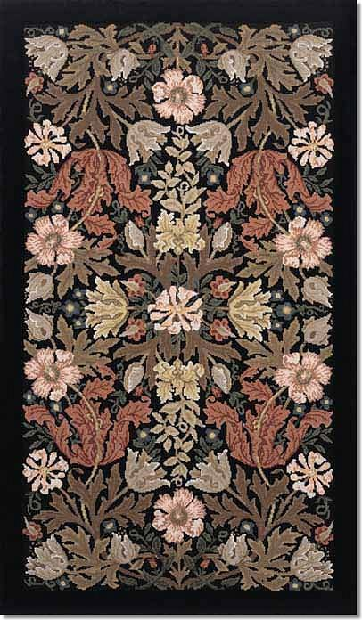 Beth Russell Compton Tapestry Rug Kit - Brown