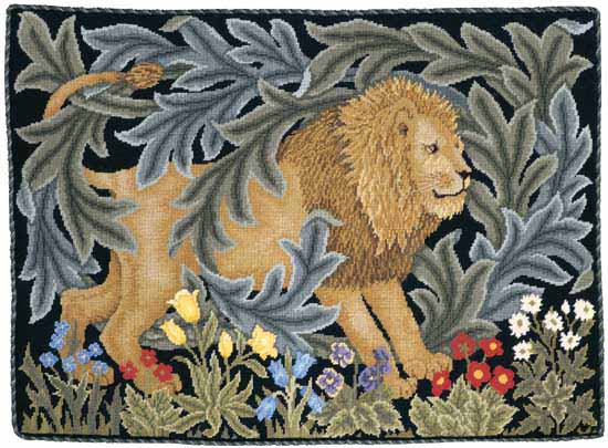 Beth Russell Lion Tapestry Kit