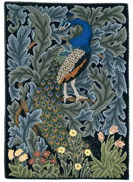 Beth Russell Peacock Tapestry Kit