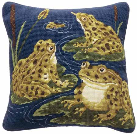 Beth Russell Frogs Tapestry Kit