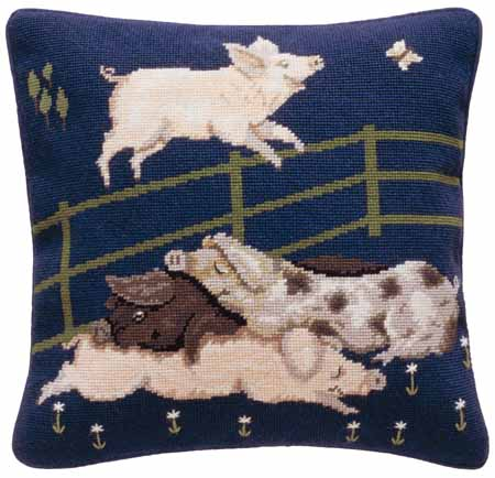 Beth Russell Pigs Tapestry Kit