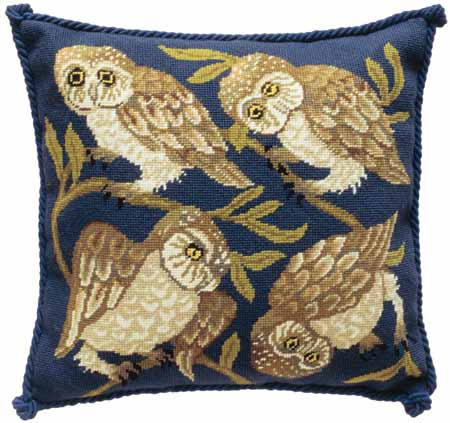 Beth Russell Owls Tapestry Kit