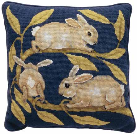 Beth Russell Rabbits Tapestry Kit
