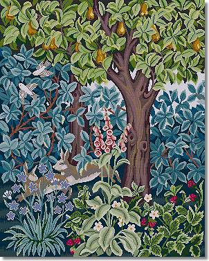 Beth Russell Hares Tapestry Kit