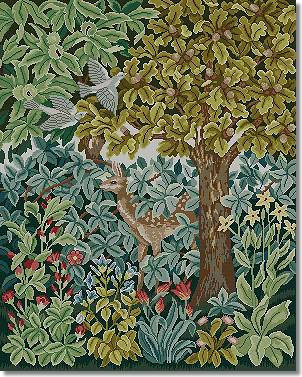 Beth Russell Deer Tapestry Kit