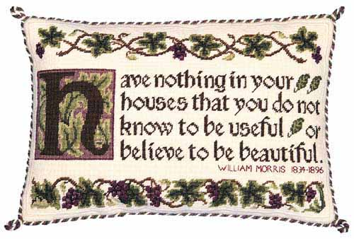 Beth Russell 'Have nothing in your house ?' Tapestry Kit