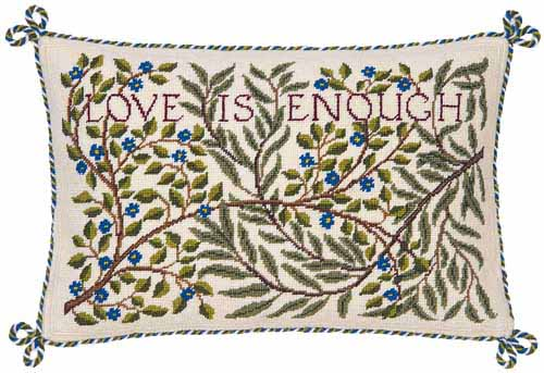 Beth Russell 'Love is enough' Tapestry Kit