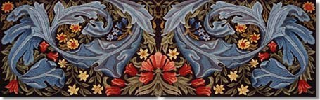 Beth Russell William Morris Panel Tapestry Kit