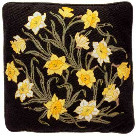 Beth Russell William Morris Daffodils Tapestry Kit
