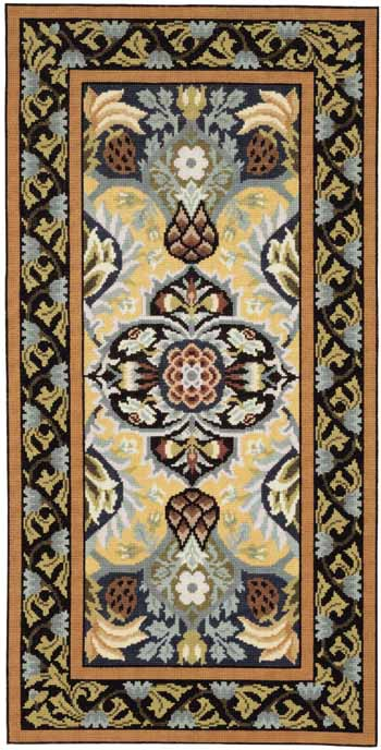 Beth Russell Pomegranate Tapestry Rug Kit