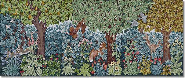 Beth Russell Greenery Trio Tapestry Kit