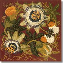 Elizabeth Bradley: Passion Flower Tapestry Kit