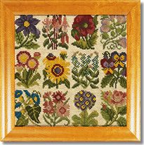 Elizabeth Bradley: Cottage Garden Favourites Tapestry Kit