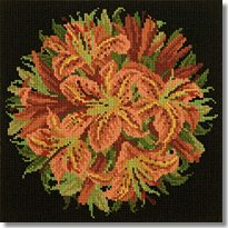 Elizabeth Bradley: Lilly Ball Tapestry Kit