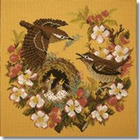 Elizabeth Bradley: Apple Blossom Tapestry Kit