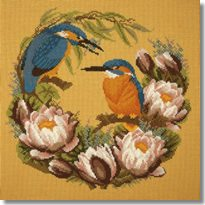 Elizabeth Bradley: Water Lillies Tapestry Kit