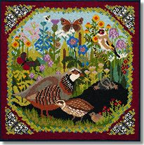 Elizabeth Bradley: Meadow Tapestry Kit