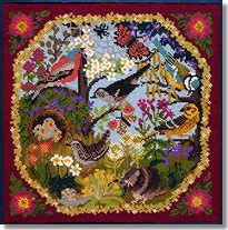 Elizabeth Bradley: Hedgerow Tapestry Kit