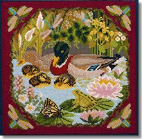 Elizabeth Bradley: Duck Pond Tapestry Kit