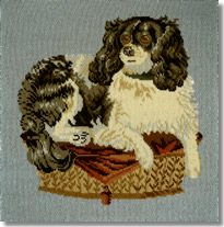 Elizabeth Bradley: The King Charles Spaniel Tapestry Kit