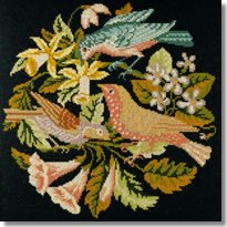 Elizabeth Bradley: The Three Birds Tapestry Kit