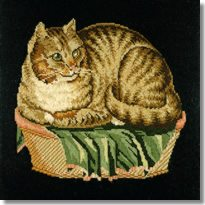 Elizabeth Bradley: The Contented Cat Tapestry Kit