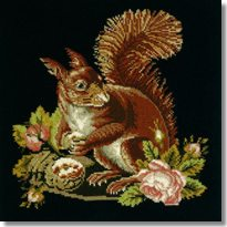 Elizabeth Bradley: The Squirrel Tapestry Kit
