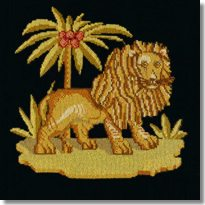 Elizabeth Bradley: The Lion Tapestry Kit