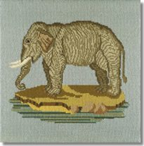 Elizabeth Bradley: The Elephant Tapestry Kit