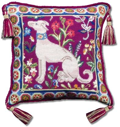 Glorafilia Medieval Dog Tapestry Kit