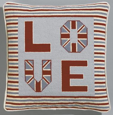 The Historical Sampler Company: 'Love Cushion' Tapestry Kit