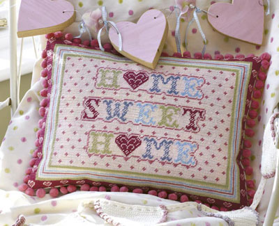 The Historical Sampler Company: 'Home Sweet Home' Tapestry Kit