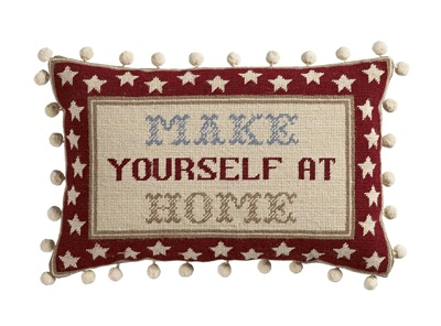 The Historical Sampler Company:  'Make Yourself at Home' Tapestry Kit