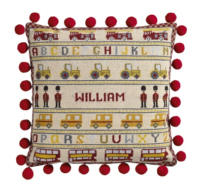The Historical Sampler Company:  'Soldier, Soldier' Tapestry Kit