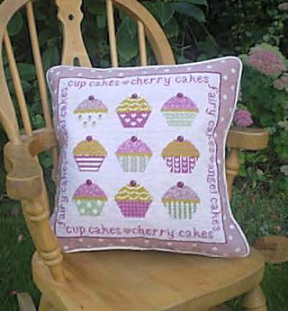 The Historical Sampler Company: 'Cup Cakes' Tapestry Kit