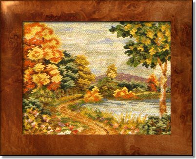Ivo Tapestries 'Woodside Lake'