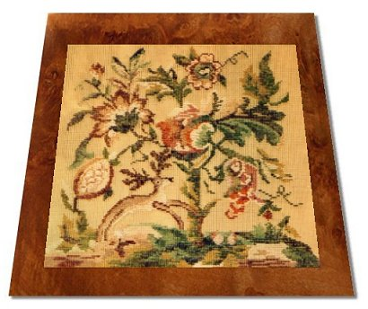 Ivo Tapestries Jacobean Tree of Life Chair Seat