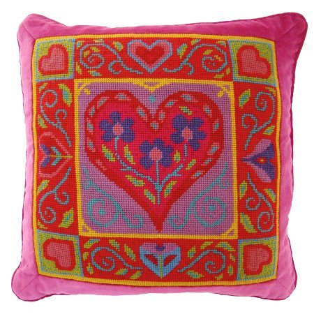 Jolly Red 'Queen of Hearts' Tapestry Kit