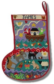 Jolly Red 'Noah's Christmas' Tapestry Kit