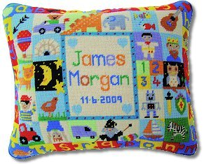 Jolly Red 'A-Z Sampler - Boys' Tapestry Kit