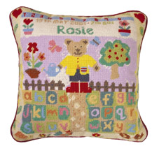 Jolly Red 'Teddy's Garden' Tapestry Kit