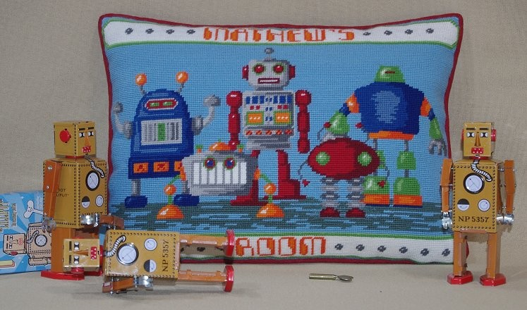 Kirk and Hamilton 'Robots': Tapestry Kit