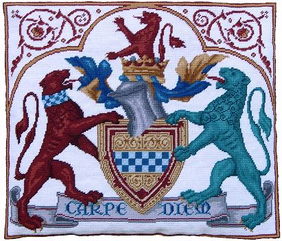 Millennia Designs Medieval Coat of Arms Tapestry Kit