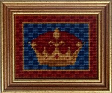 Millennia Designs Mini-Medieval Tapestry Kit: Queen's Crown