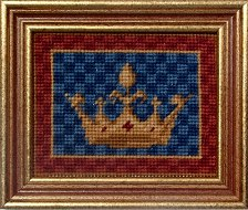 Millennia Designs Mini-Medieval Tapestry Kit: King's Crown