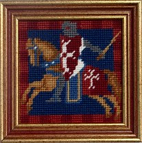 Millennia Designs Mini-Medieval Tapestry Kit: Knight