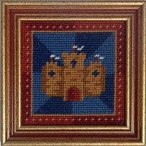 Millennia Designs Mini-Medieval Tapestry Kit: Blue Castle