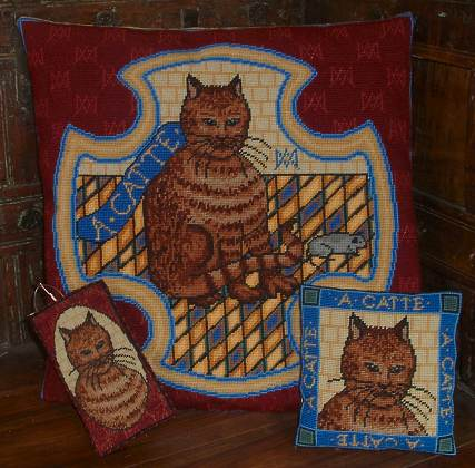 Millennia Designs Mary Queen of Scots 'Catte and Mouse':  Tapestry Kit